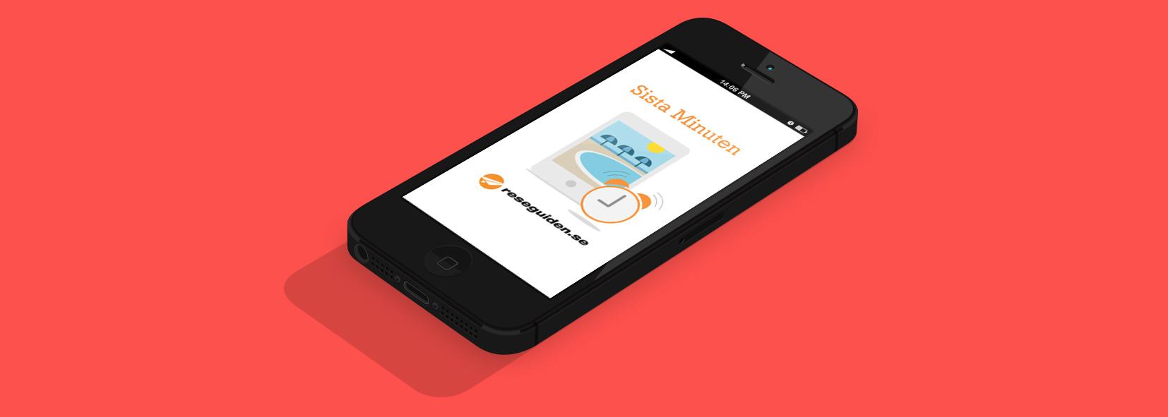 Reseguiden Last Minute App